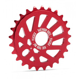 DARTMOOR Peacock Chainring red